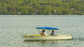 Boat on Starnberg Lake Stock Photos