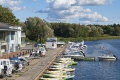 Boat station Royalty Free Stock Photo