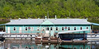 Boat station Royalty Free Stock Photography
