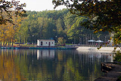 Free Boat Station In Troparevsky Park Moscow Stock Image - 67061771