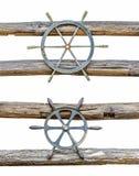 Boat steering Stock Image