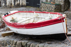 Boat on Stone Royalty Free Stock Image