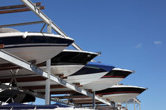 Boat storage Royalty Free Stock Images
