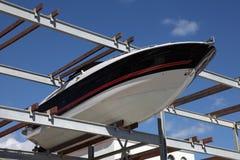 Boat storage rack Stock Images