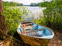 Boat in the Summer Royalty Free Stock Photo
