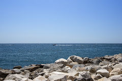 Boat in summer Puerto Banus Royalty Free Stock Images