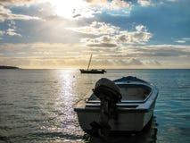 Trou aux Biches Mauritius stock image