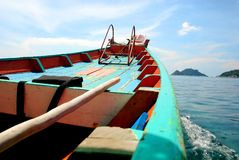 Boat of thailand Royalty Free Stock Photography