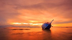 Boat. In Thailand Royalty Free Stock Photo