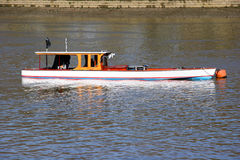 Boat on the Thames Royalty Free Stock Photos