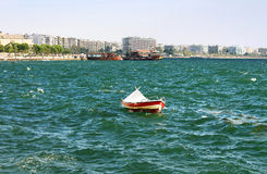 Boat in Thessaloniki, Greece Stock Photo