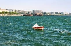 Boat in Thessaloniki, Greece Stock Photo