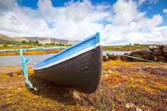 The Boat and The Tide Royalty Free Stock Photography
