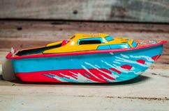 Boat Tin toys Stock Image