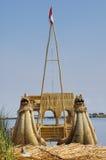 Boat at Titicaca lake Royalty Free Stock Photography