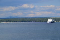 Boat to Brijuni Islands, Croatia Stock Photography