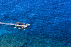 Boat to Gili Stock Images