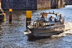 Boat tour in Berlin Royalty Free Stock Image