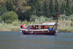Boat tour in Dalyan Stock Photography