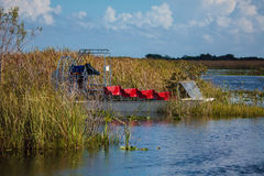 Boat tour through the marsh in the Everglades National Park, Flo Royalty Free Stock Photography