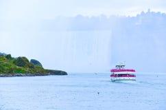Boat tour at Niagara Falls Royalty Free Stock Images