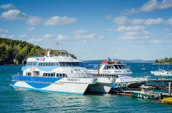 Free Boat Tours - Bar Harbor, Maine Stock Images - 95903894