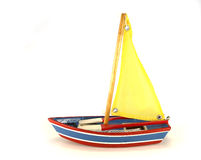 Boat toy Stock Photo