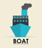 Boat transport Stock Photo