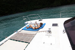 Boat trip Royalty Free Stock Photography
