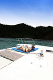 Boat trip Stock Image