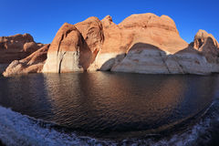 Boat trip along the beautiful Lake Powell Royalty Free Stock Images