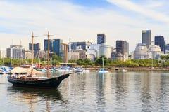 Boat trip along  Rio de Janeiro Royalty Free Stock Photography