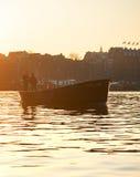 Boat trip, Amsterdam Stock Photo