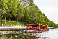 Boat Trip Canal Beijing China Royalty Free Stock Image
