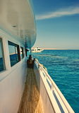 Boat trip in Egipt Royalty Free Stock Images