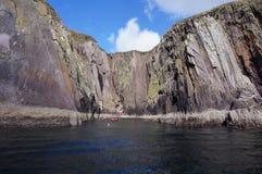 Boat trip in killarney ireland Royalty Free Stock Photography