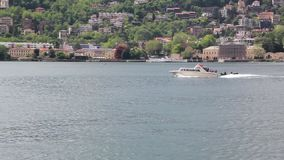 Boat Trip On Lake Como, Lombardy, Italy. Boat Trip On Lake Como, Italy stock video