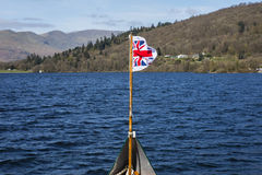 Boat Trip on Lake Windermere Royalty Free Stock Photography
