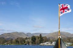 Boat Trip on Lake Windermere Stock Image
