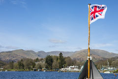 Boat Trip on Lake Windermere Royalty Free Stock Images
