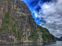 Boat trip Norway. Boat trip in Norway, river, nature, fjord, landscape, sky, view, amazing, beautiful stock image