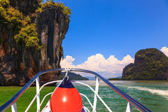 A boat trip Royalty Free Stock Image
