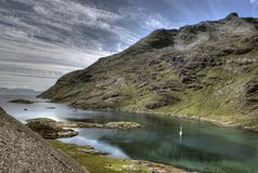 Boat trip in scotland Stock Photo