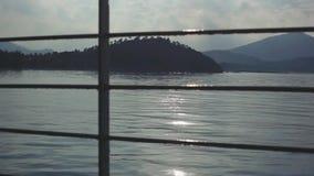 Boat trip tropical island. 1920x1080. Hd stock video footage