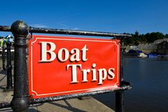 Boat Trips Royalty Free Stock Photo