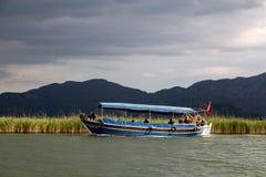 Boat Trips in Dalyan Royalty Free Stock Photos
