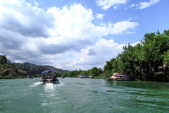 Boat Trips in Dalyan Stock Photography