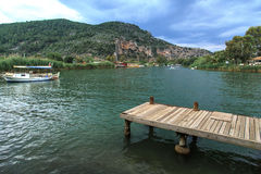 Boat Trips in Dalyan Stock Images