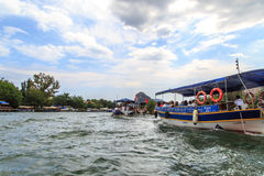 Boat Trips in Dalyan Royalty Free Stock Photo