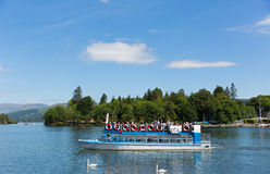 Boat trips English UK lake District Cumbria England Royalty Free Stock Photography